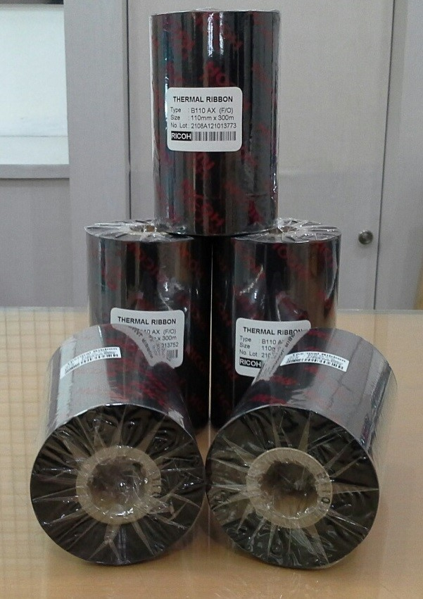 Thermal Transfer Ribbon B110 AX